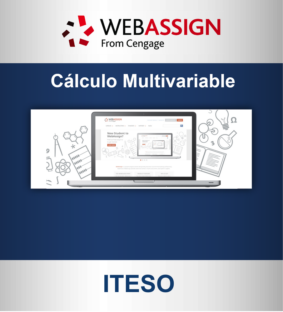 Webassign: Cálculo Multivariable (6 meses) ITESO