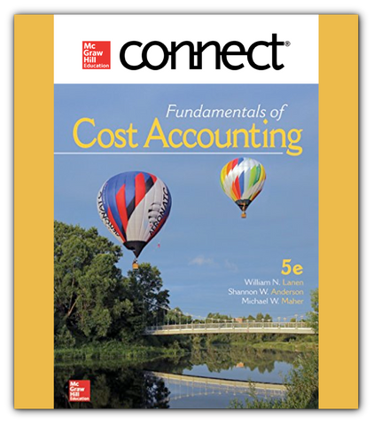 Connect 1-Semester Online Access For Fundamentals of Cost Accounting