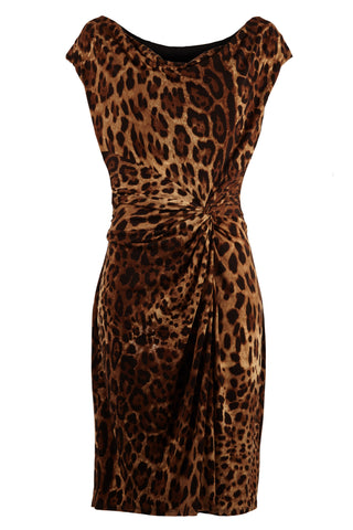 Vivienne Leopard Print Dress
