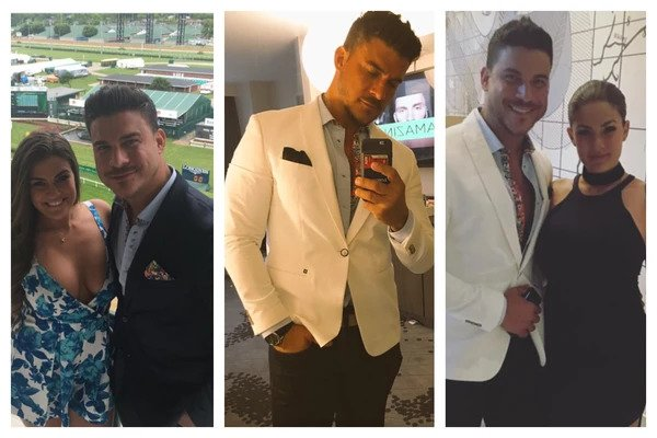 Jax Taylor from the Vanderpump Rules wearing Au Noir from Maka's Boutique!