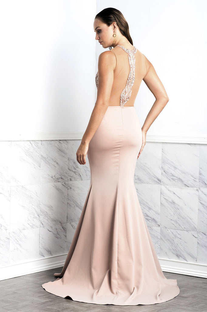 Margot Pink Baccio Couture Gown