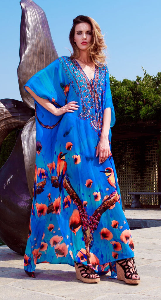 JUL-502L Shahida Parides Kaftan Dress