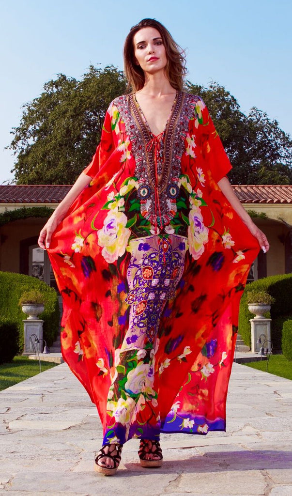 Cherry Picked 502L Shahida Parides Kaftan Dress