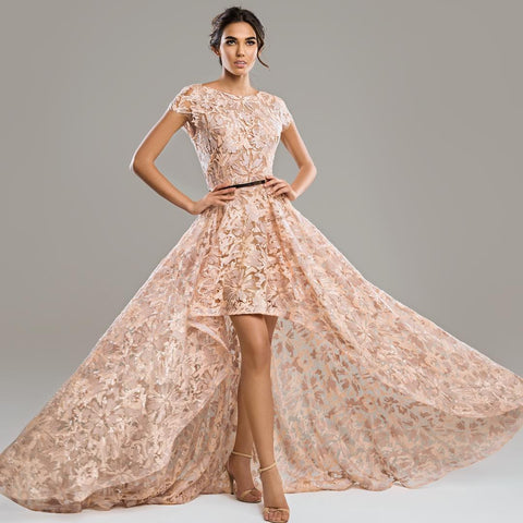 Image result for beige floral gown