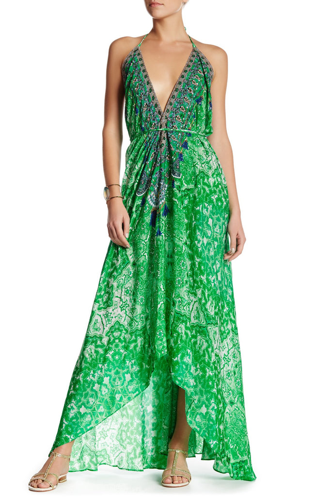 Persian Princess Green Envy 3 Way Shahida Parides Dress