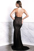 Wilma Black Baccio Couture Gown
