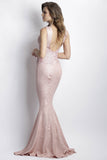 Katy Rose Painted Baccio Couture Gown