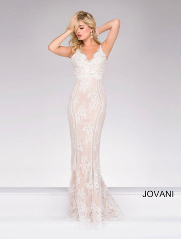 JOVANI 42883 MERMAID BEADED DRESS