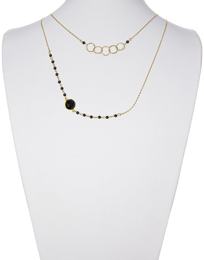 NLG-78-ON Gemstone Necklace Charlene K Jewelry