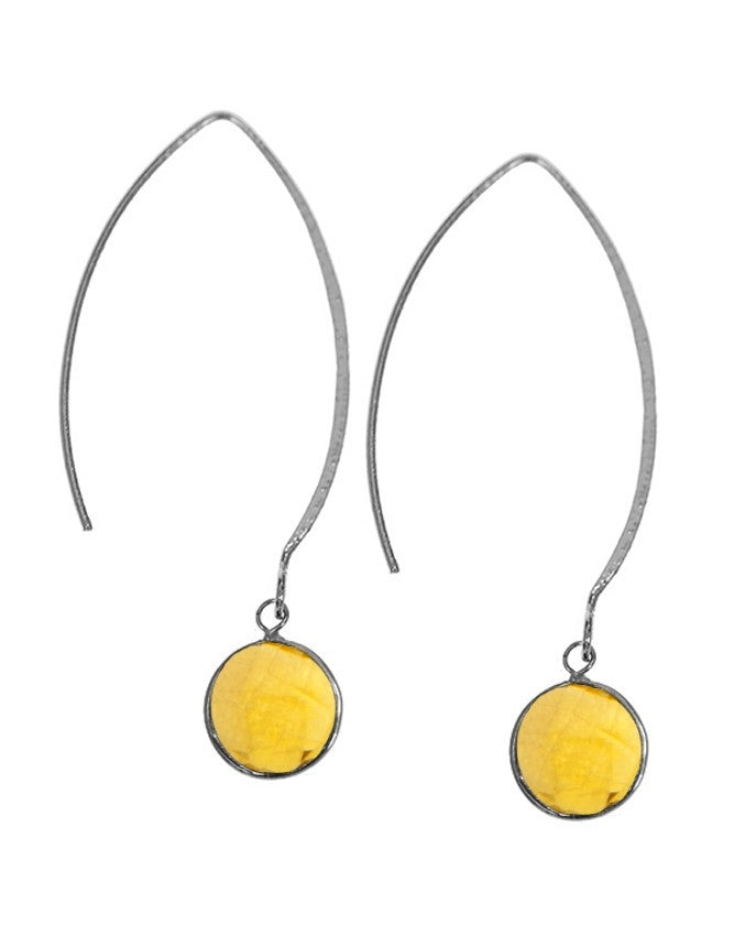 EGOH-1-CI Gemstone In Sterling Silver Earrings Charlene K Jewelry