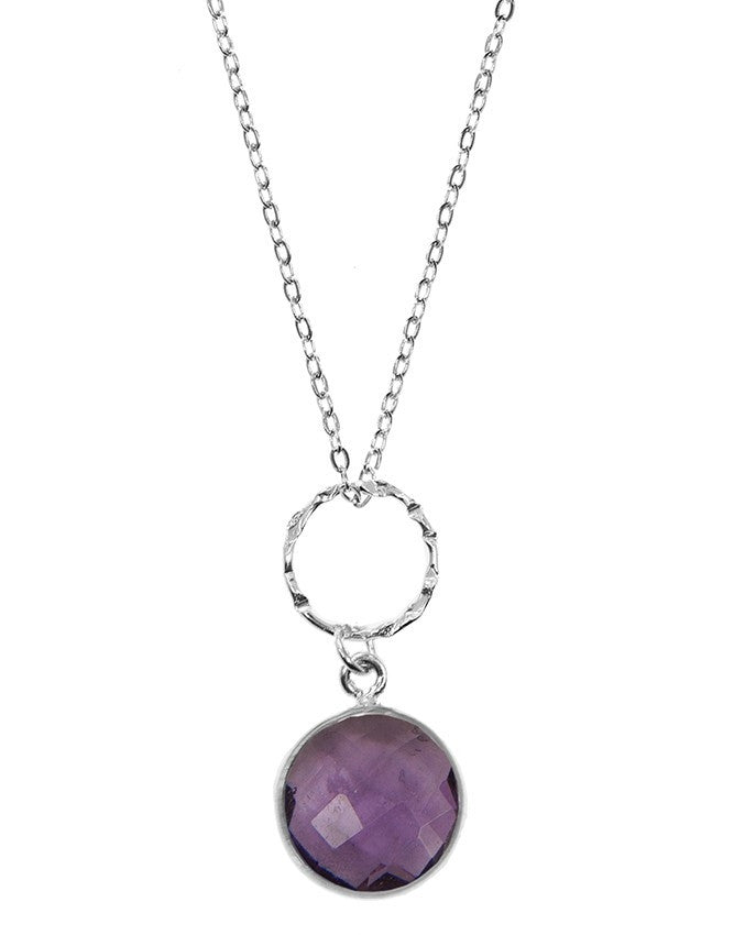 PG10-1-AM Gemstone In Sterling Silver Pendant Charlene K Jewelry