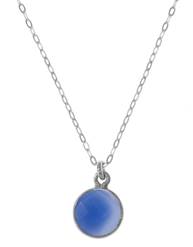 PG10-BLCH Gemstone In Sterling Silver Pendant Charlene K Jewelry