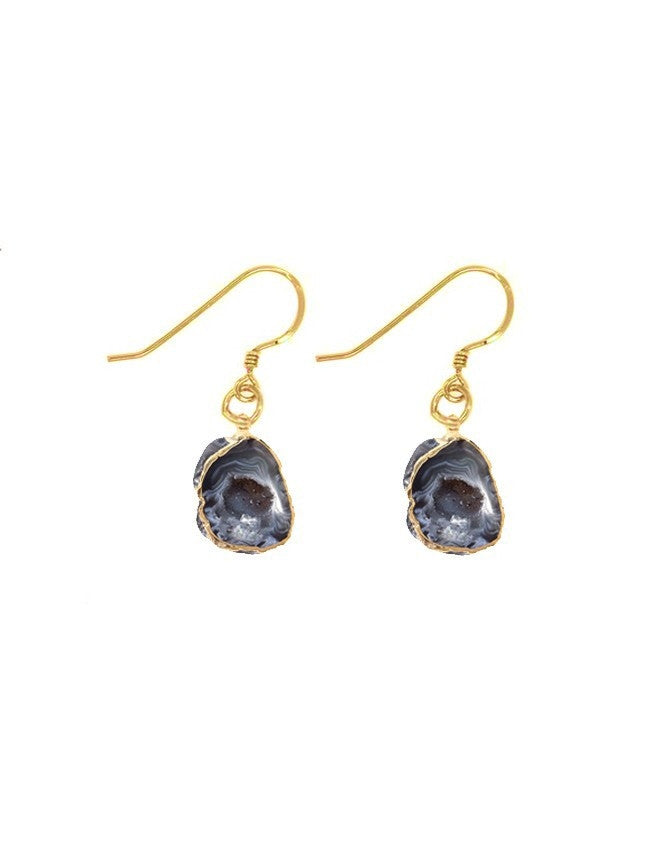 EGEO-S-GEO-DR Geode Collection Earrings Charlene K Jewelry