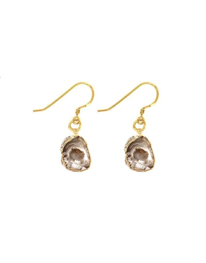 EGEO-S-GEO-LT Geode Collection Earrings Charlene K Jewelry