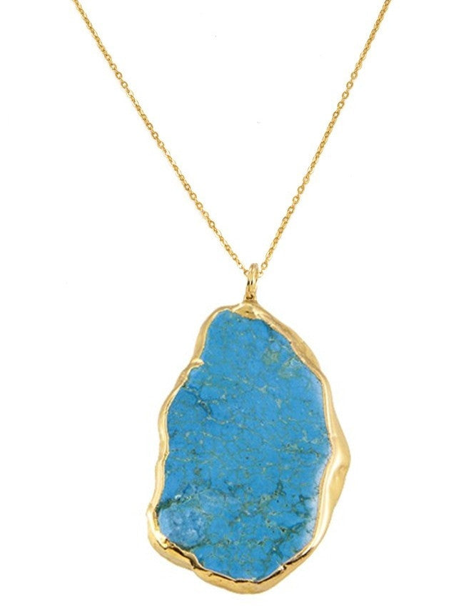 PGT-BT Turquoise Group Pendant Charlene K Jewelry