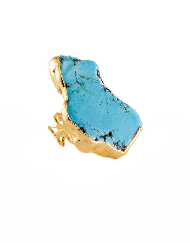 RGT-BLBR Turquoise Group Ring Charlene K Jewelry
