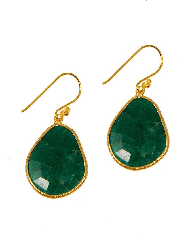 EG3-EM Ruby-Sapphire-Emerald Earrings Charlene K Jewelry