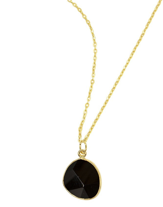 PG38-OX Organic Faceted Gems Pendant Charlene K Jewelry