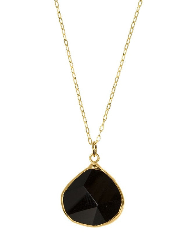 PGT1-ON Faceted Gemstones Pendant Charlene K Jewelry