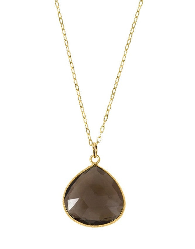 PGT1-SQ Faceted Gemstones Pendant Charlene K Jewelry