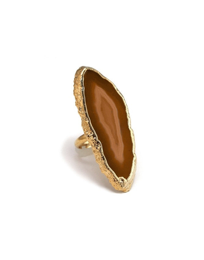 RGSA-LBR Gemstone / Agate Ring Charlene K Jewelry