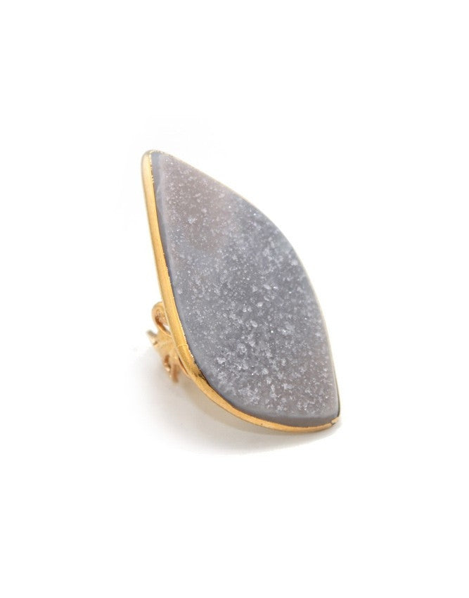 RGD-CH Large Druzy Ring Charlene K Jewelry