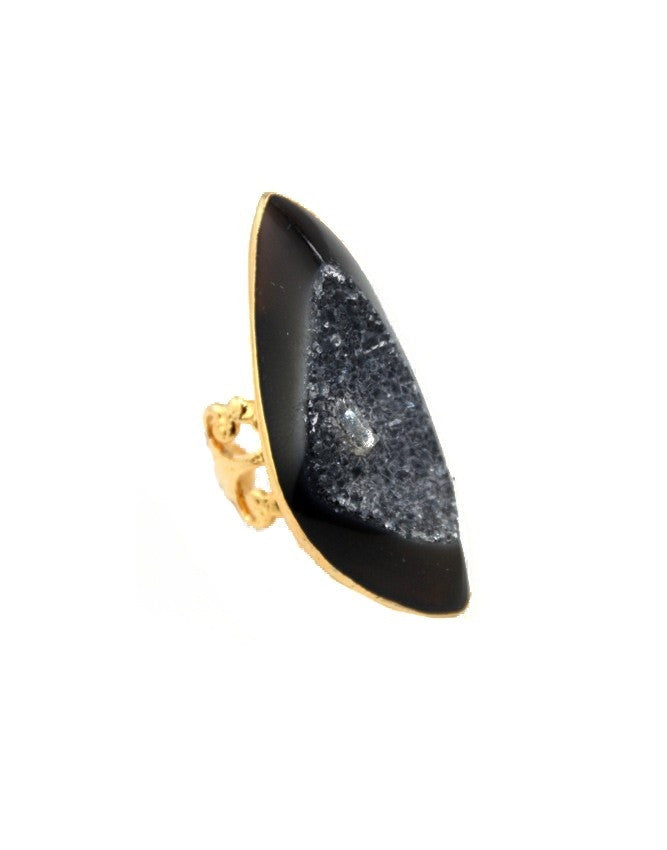 RGD-ON Large Druzy Ring Charlene K Jewelry