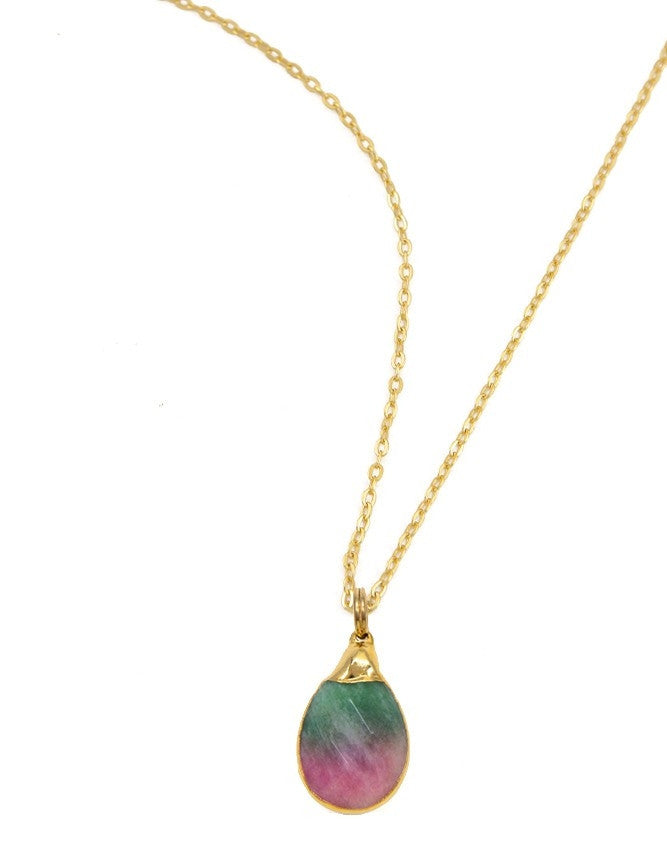 PG21-JA-MC Gemstone Pendant Charlene K Jewelry