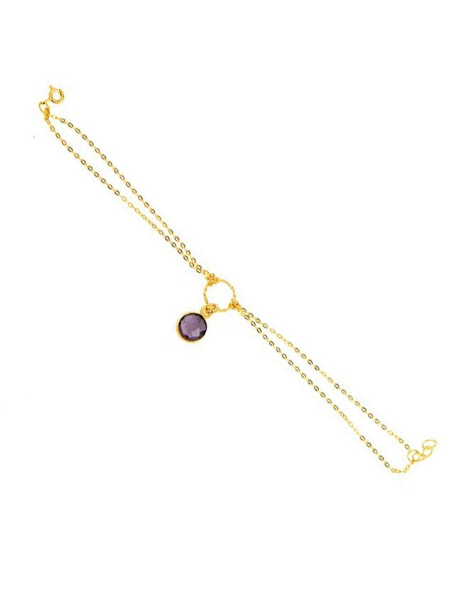 BG6-AM Small Gem Bracelet Charlene K Jewelry
