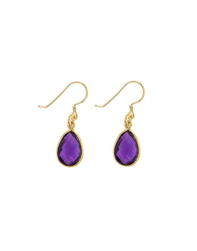 EG27T-AM Small Gem Earrings Charlene K Jewelry