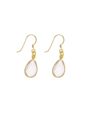 EGOH-PJ Oval - Gem Earrings Charlene K Jewelry