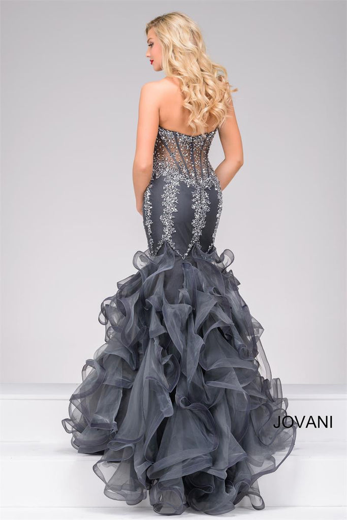 JOVANI 42833 MERMAID BEADED DRESS