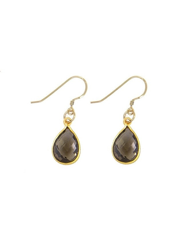 EG27T-SQ Small Gem Earrings Charlene K Jewelry