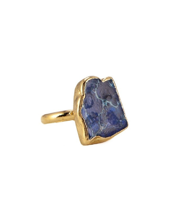 RGJA-BL Small Jasper Ring Charlene K Jewelry