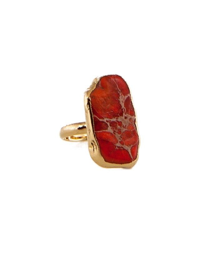 RGJA-OR Small Jasper Ring Charlene K Jewelry