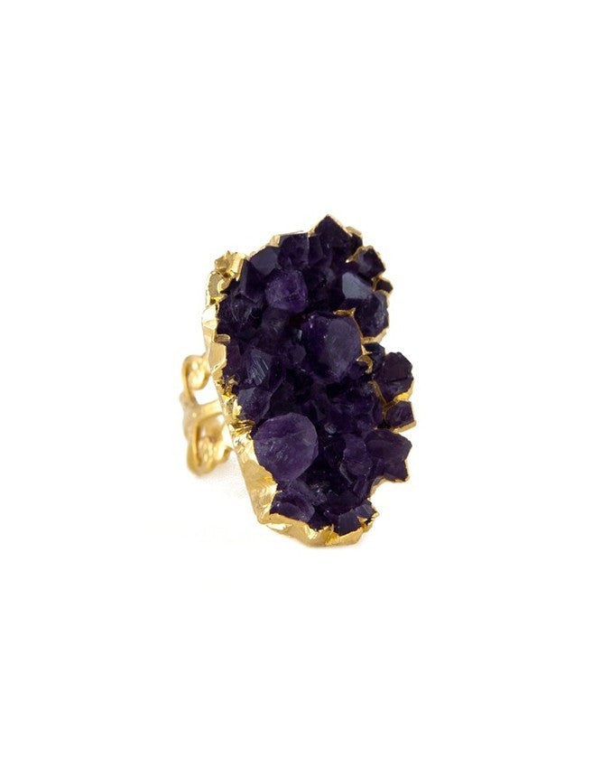 RG-AM-IR Amethyst - Citrine Ring Charlene K Jewelry