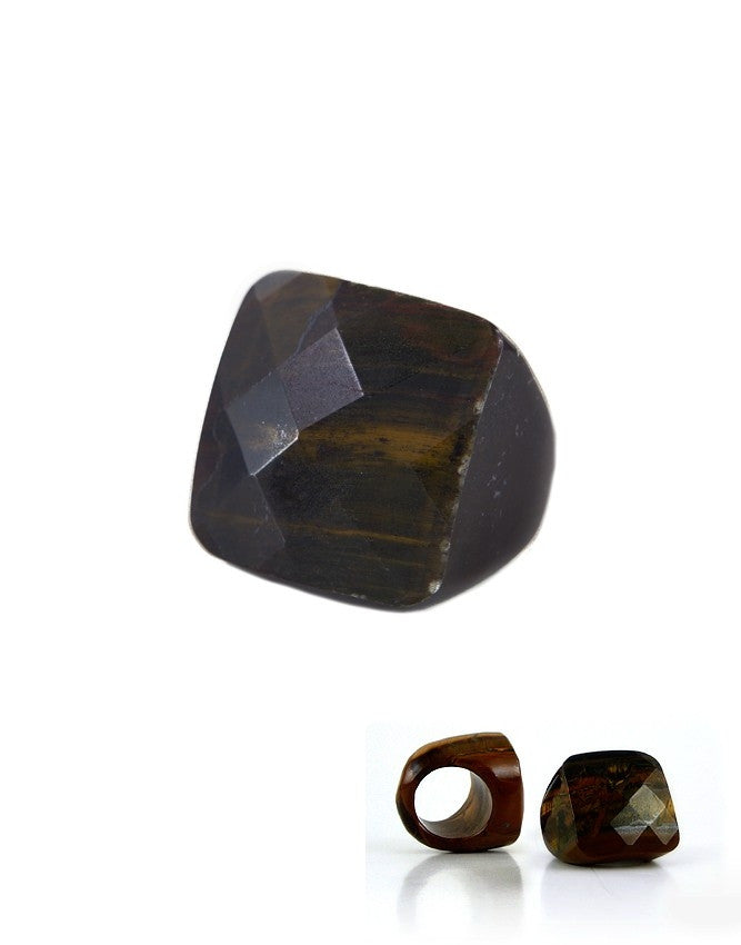 RBG-S-TE Solid Gemstone Ring Charlene K Jewelry