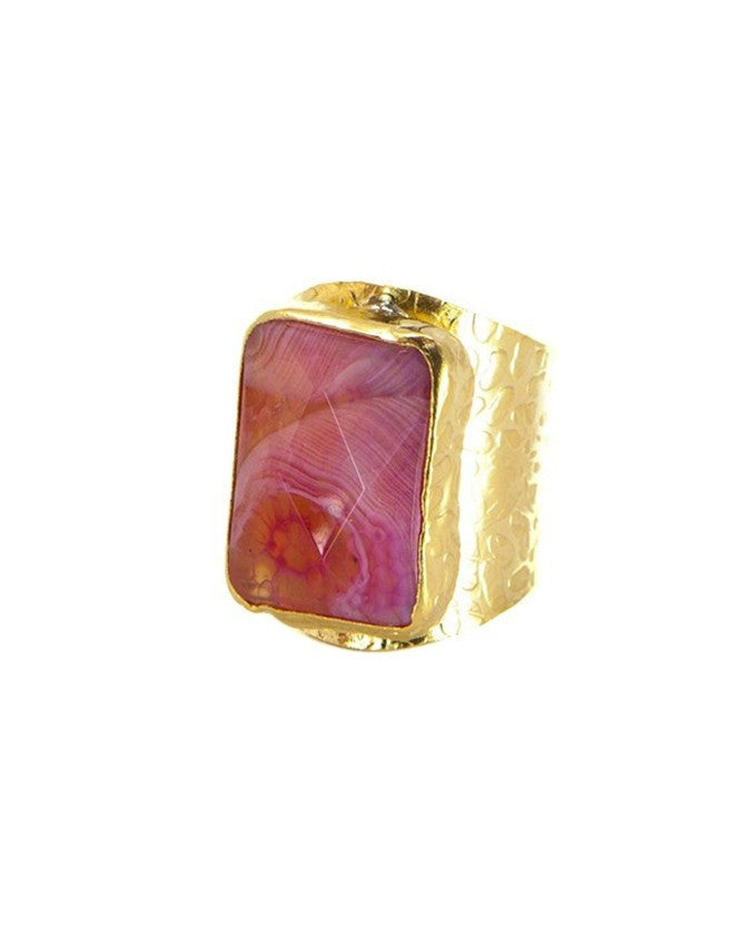 RGCI-S-FU Gemstone Cigar Ring Charlene K Jewelry