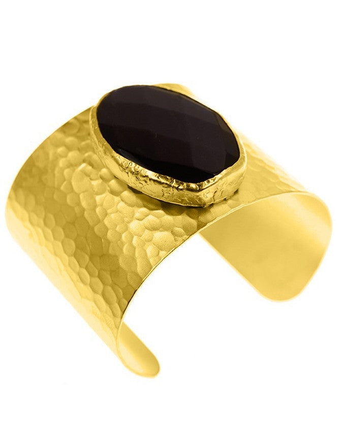 CGON-F-ON 24K Gold Plated cuff Charlene K Jewelry