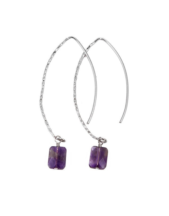 EGOH-AM Oval - Gem Earrings Charlene K Jewelry