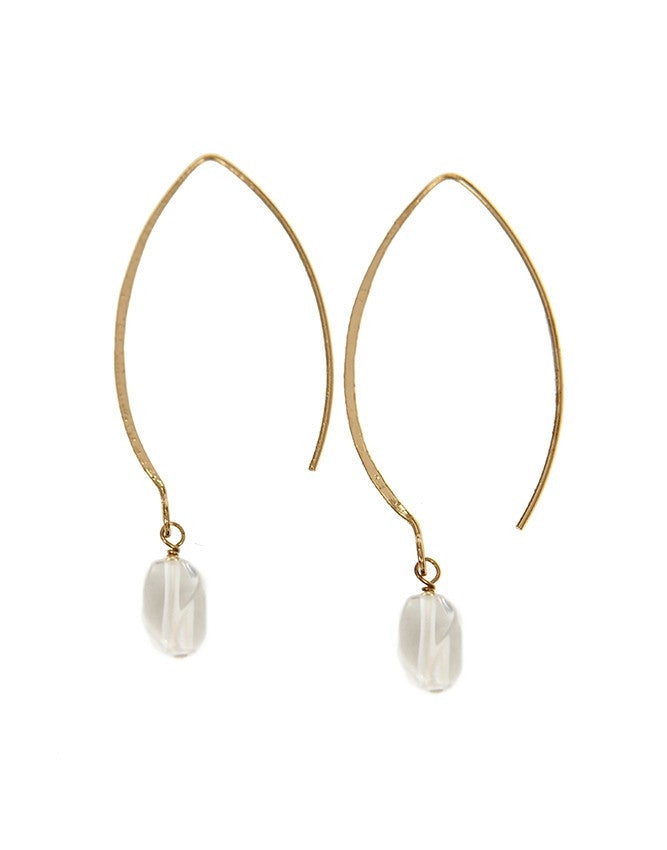 EGOH-CL Oval - Gem Earrings Charlene K Jewelry