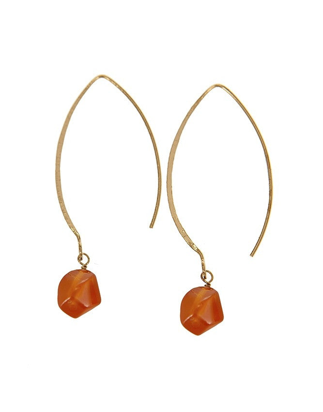 EGOH-CR Oval - Gem Earrings Charlene K Jewelry