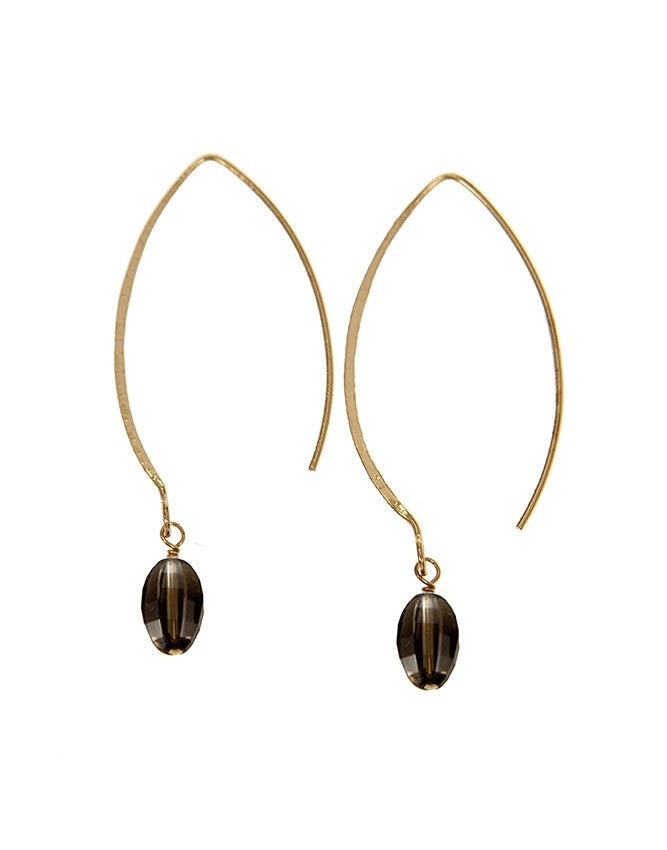 EGOH-SQ Oval - Gem Earrings Charlene K Jewelry