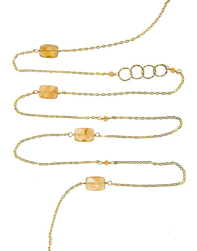 NLG61-CI Gem Long Necklace Charlene K Jewelry