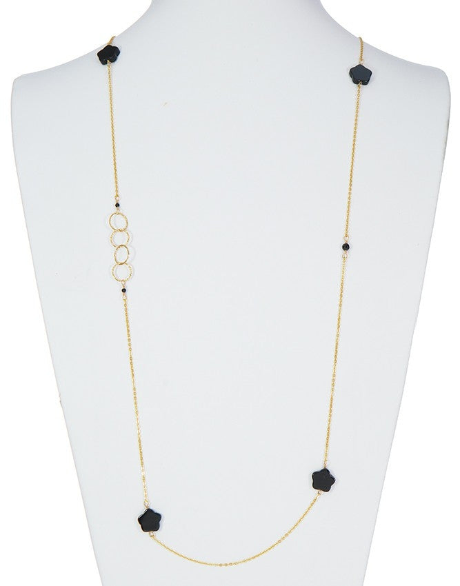 NLG61-CL-ON Gem Long Necklace Charlene K Jewelry