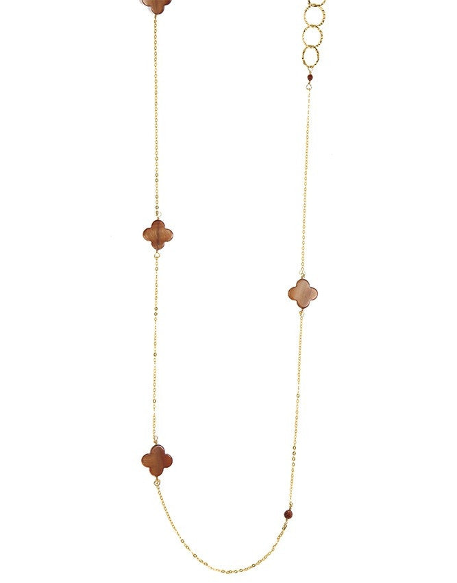 NLG61-CL-TE Gem Long Necklace Charlene K Jewelry