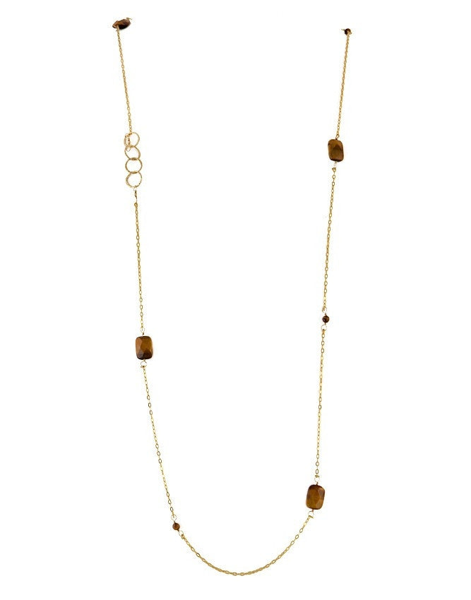 NLG61-TE Gem Long Necklace Charlene K Jewelry