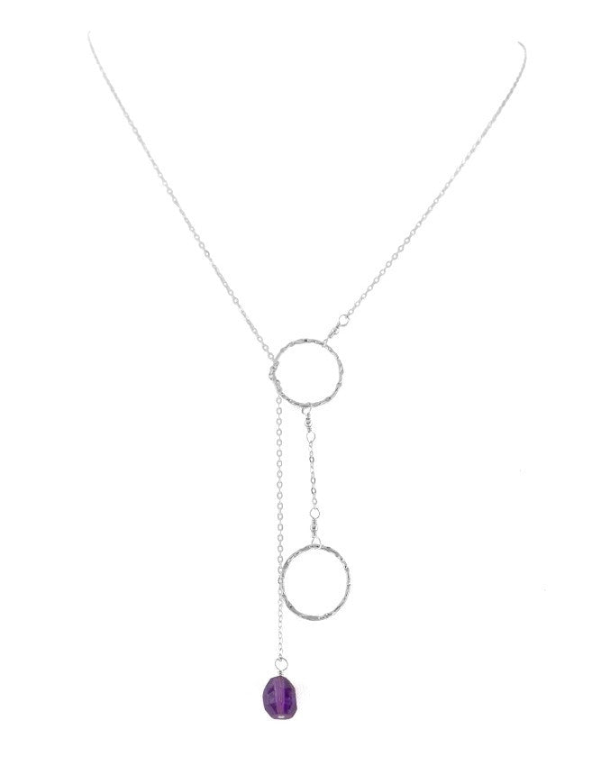 PG20-AM Lariat Necklace Charlene K Jewelry