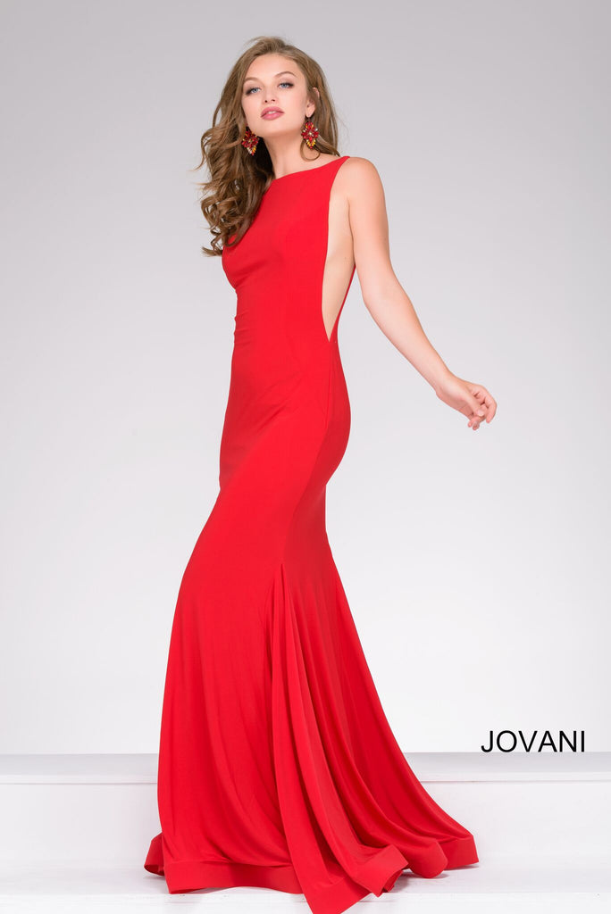 Jovani 47100 Red Gown | Jovani Gown
