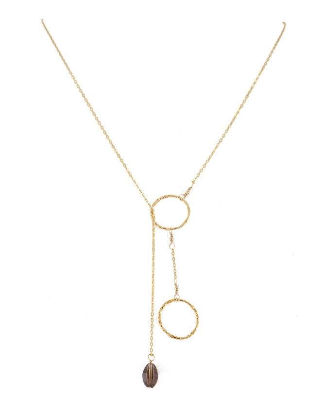 PG20-SQ Lariat Necklace Charlene K Jewelry
